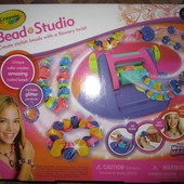 На 6+ Набор Crayola Bead Studio девочке