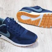 Кроссовки мужские  Nike Air Pegasus темно сині
