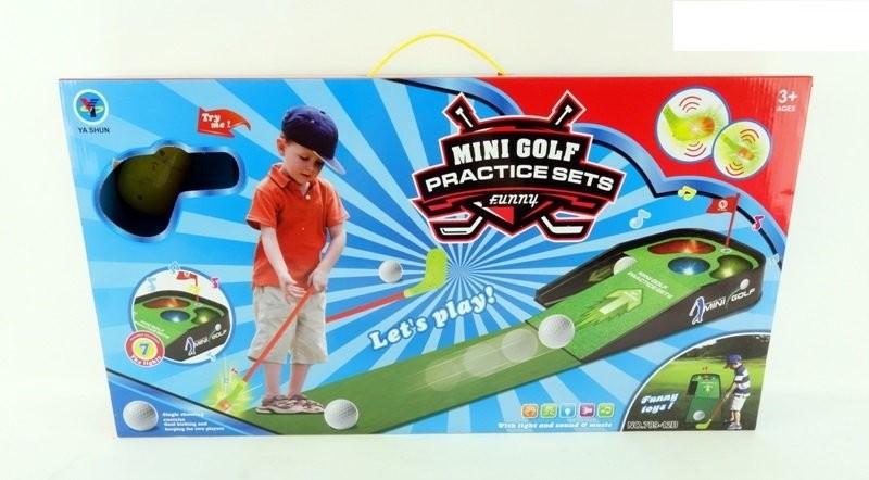 Набор для игры в гольф, свет, в коробке63,5*33,5*9см фото №1