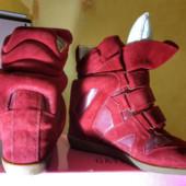 Сникерсы Isabel marant leather