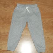 H&M (2-3 года) спортивные штаны на баевой основе
