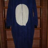 Пижама флисовая, мужская, размер S/М, рост до 175 см