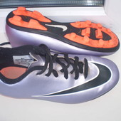 бутсы шиповки Nike р.35,21.5 см по замерам