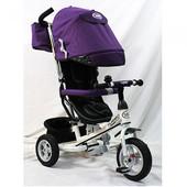 Трехколесный велосипед Turbotrike M 3452-2F, фиолетовый