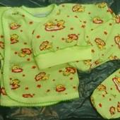 Хлопковые комплекты для новорожденный роддом на лето