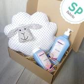 Набор ′Подушка, лосьон и присыпка для малыша′