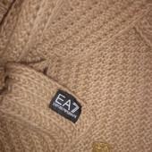 Emporio Armani EA7 тёплый шарф 100% шерсть