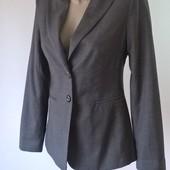 пиджак женский серый классика 38 размер