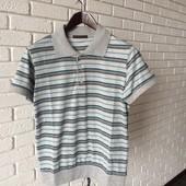 Мужская футболка гол+серый
