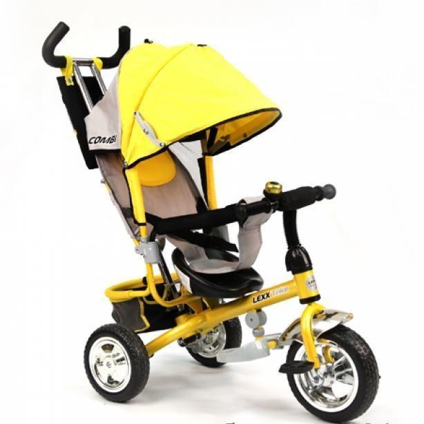 Детский трехколесный велосипед lexx trike колесо пластик eva — qat-017 фото №1