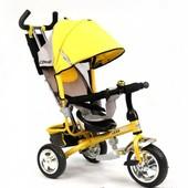 Детский трехколесный велосипед lexx trike колесо пластик Eva — qat-017