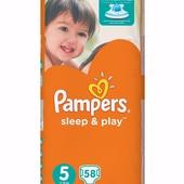 Подгузники памперсы Pampers Sleep&Play jumbo pack Польша