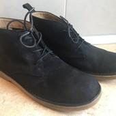 Ботинки Clarks размер 38 по стельке 25см, отл.сост.