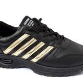 Мужские спортивные кроссовки - Эко-Кожа (А-581)
