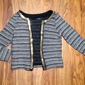 Фирменный пиджак с пайетками