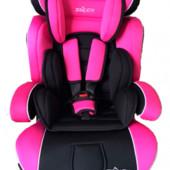 Автокресло детское Joy 888 группа 1-2-3 (9-36кг), розовое