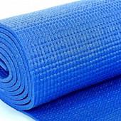 Йога Мат (коврик для йоги) 4мм. Цвет в ассортименте.
