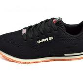 Мужские кроссовки Supo Energy Sport 1737 черные