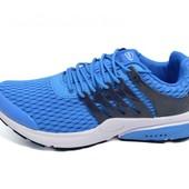 Мужские кроссовки Supo AirMax 1719 синие