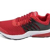 Мужские кроссовки Supo AirMax 1719 красные