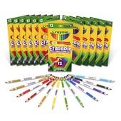 Стираемые цветные карандаши Крайола Crayola 12 шт.