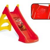 Детская Горка с водным эффектом cars 2 xs Smoby 310146/820613