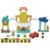 Большой набор для лепки Play-Doh Город