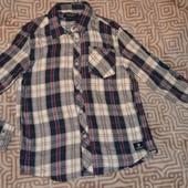 новая брендовая рубашка Firetrap на 5-6 лет рост 116 см 100% Хлопок