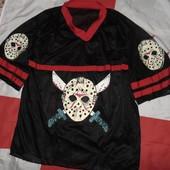 Стильная фирменная тениска реглан футболка NHL.л-хл .