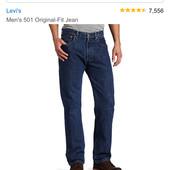 Levi's 501, W42 L32