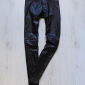 Шикарные кожаные штаны для девушки. H&M. Размер 36 (6) или s (m). Состояние: новой вещи