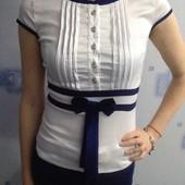 Нарядная летняя блузка размер S