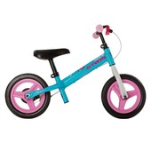 Decathlon Беговел велобег btwin run ride 500 kids' 10-inch balance bike blue/pink Великобритания