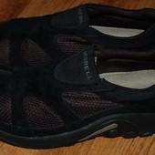 Кожаные туфли мокасины 42 р Merrell хорошее состояние