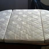 Матрас - трансформер на овальную кроватку Ingvart Smart Bed 60/72-120 кокос