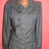 рубашка джинсовая р-р S/36 Anna Scott