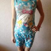 Летняя женская пижама размер XS S