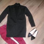 Пальто в стиле бойфренд. Р. 12.  Рост 176/180 см