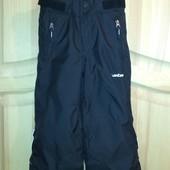 р.98-104, лыжные теплые термо-штаны, в идеале