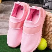 Яркие удобные женские кроссовки без шнуровки