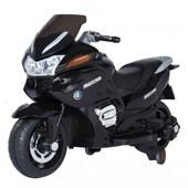 Детский мотоцикл Tilly (T-726 black) с одним мотором
