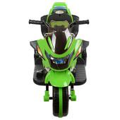 Детский трицикл Bambi Зеленый (BI318C-5) с mp3