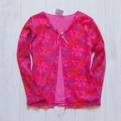 Яркая блуза с элементами реглана для девочки. Размер 3 года. Состояние: отличное