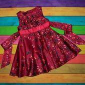 Нарядное платье на 2-3 года, рост 98 см