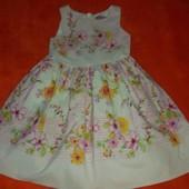 Платье Next на 4-5 лет в хорошем состоянии