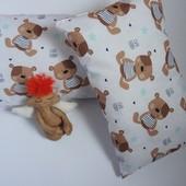 Декоративная подушка мишка тедди