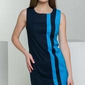 Размеры 42-48 Женское льняное летнее платье