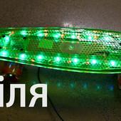 Скейт SK 17110 Пенни борд ( Penny Board),светящиеся колеса и доска