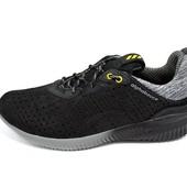Мужские кроссовки Сетка Alphabouce Т3 черные с серым(реплика)