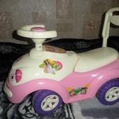 Толокар машинка толкатель орион orion для девочки
